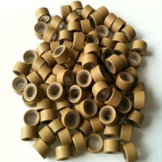Silicone micro rings Blonde 100 pcs